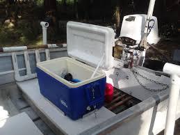 marine cooler seat poling platform installation page 1 iboats