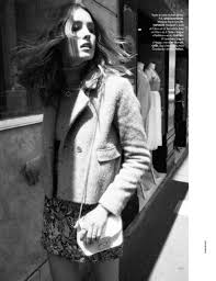 nadja bender wears 60s style for today in elle france 1960s