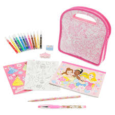 stationery set disney princess stationery set with carrying shopdisney