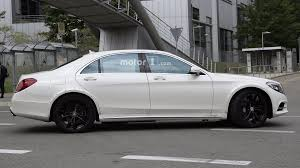 2021 mercedes benz s class test mule spotted