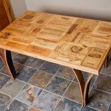 Wine Crate Coffee Table Diy by Wooden Wine Boxes U0026 Wine Crates The Top 11 Wine Crate Table Designs