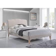 stylish king size platform bed frame m75 for home decor