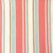 malibu stripe twill red turquoise khaki fabric store with