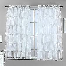 White Ruffle Curtains Curtains 80 Inch Shower Curtain Awesome Shop White Ruffle