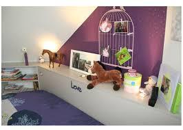 chambre prune chambre fillette prune et gimgembre bleu de