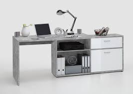 Schreibtisch Hochglanz Schreibtisch Weiss Hochglanz Hell Grau Atelier Fmd Diego 1 Holz