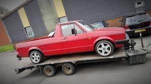 volkswagen caddy truck vw caddy mk1 2 0t 20v drag racer ade tuning