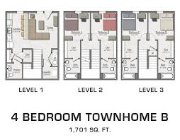 four bedroom townhomes rustic village apartments townhomes clayton pricing 4 bedroom