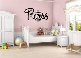 girls bedroom wall decor decal wall sticker words lettering