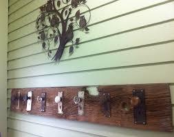green glass door knob new diy coat rack old barn board with antique door knobs screwed