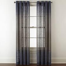 Sheer Curtains Grommet Top Studio Delano Grommet Top Sheer Curtain Panel Jcpenney