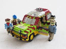 jurassic park car movie jurassic park ford explorer 8 building the figures wasn u0027 u2026 flickr