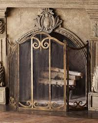 classic fireplace screen