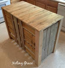 How To Build An Kitchen Island How To Make A Pallet Kitchen Island For Less Than 50 Hometalk