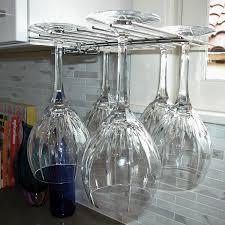 glass hanger wine glass drying rack wine enthusiast