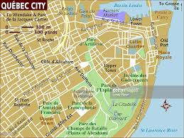 St Lawrence River Map Map Of Quebec City