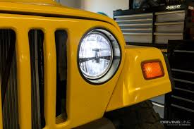 stock jeep headlights quadratec u0027s gen ii led headlight review drivingline