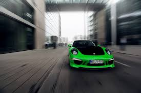 green porsche good in green porsche 991 carrera 4s by techart
