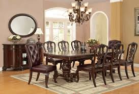 perry hall formal dining table set