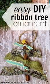 ornaments day 4 ribbon tree coupon closet