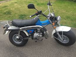 sand bike monkey bike suzuki retro style 50cc in fetcham