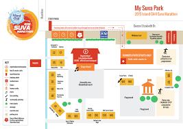 map of suva city participant info suva marathon club
