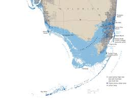What Is A Map Projection Treading Water Map Florida In 2100 National Geographic Magazine