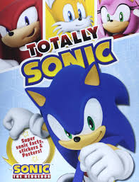 totally sonic super facts stickers and posters totally sonic super facts stickers and posters amazon books
