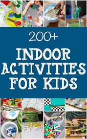 list of indoor activities for