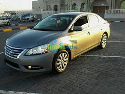 nissan sedan 2014 nissan sentra 2014 with very low mileage for sale used cars ajman