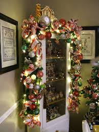 oh my over the top garland love the house on top perfect