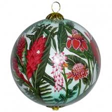 hawaiian hibiscus ornament by design