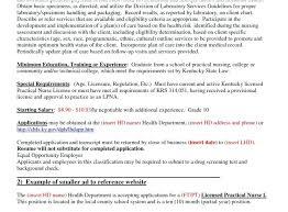 lpn resume exle lpn resume objective resume exle fresh resume objective