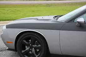 Dodge Challenger Matte Black - dodge challenger partial matte black wrap car wrap city