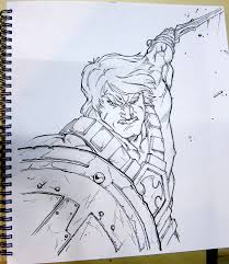 he man sketch by keatopia on deviantart
