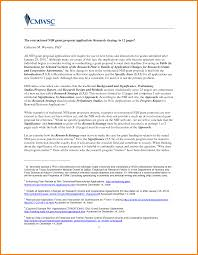 Grant Cover Letter Sample by Timeline For Funding Decisions Letter Of Intent Nih What Is A