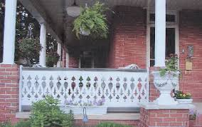 porch banister porch parts flat sawn balusters victorian porch railings