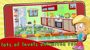 kids clean up kitchen android apps on google play