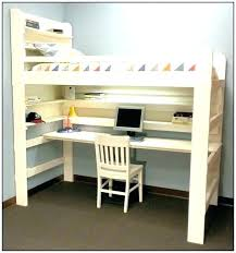 loft beds with desk twin over full bunk beds with desk designing