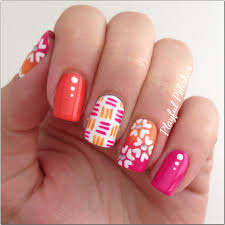 playful polishes mix u0026 match springtime nails
