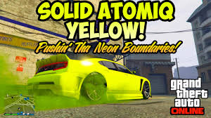 gta online xb1 ps4 pc rare modded rgb car colours solid