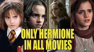 hermione 8 harry potter movies evolution