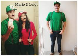 Mario Luigi Halloween Costumes Couples Lifetime Rain Couple Halloween Costumes