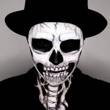 skeleton boy makeup makeup vidalondon