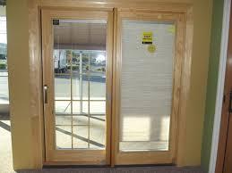 9 Patio Door Gorgeous Sliding Patio Doors With Blinds Window Glass