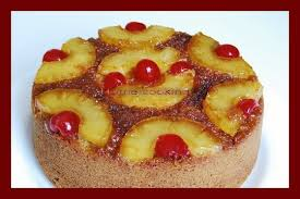 eggless pineapple upside down cake home cooking