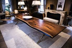 live edge round table live edge table solid american black walnut live edge dining live