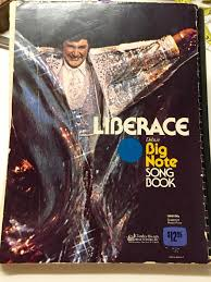 liberace deluxe big note songbook organ piano guitar chord music