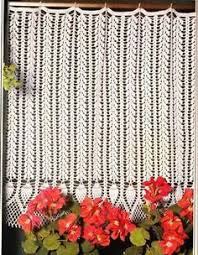 Crochet Kitchen Curtains by Crochet Curtain Good Pinterest Crochet Curtains Crochet And
