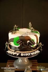 Cake From An Army Themed Birthday Party Via Kara U0027s Party Ideas